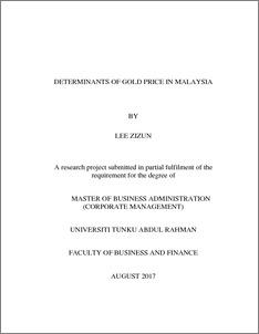 fyp thesis utar